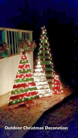 Stylish Diy Outdoor Christmas Decoration Ideas25