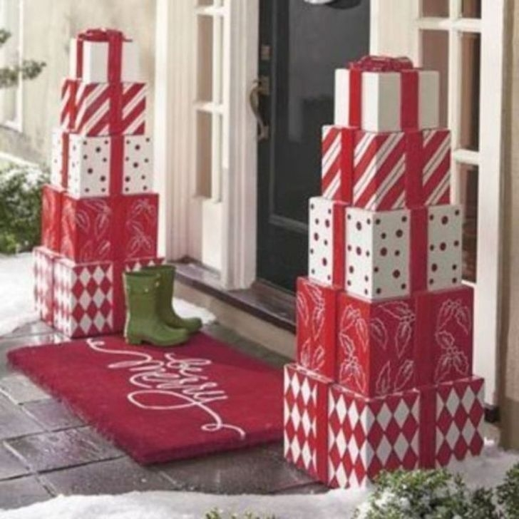 Stylish Diy Outdoor Christmas Decoration Ideas38