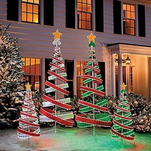 Stylish Diy Outdoor Christmas Decoration Ideas40