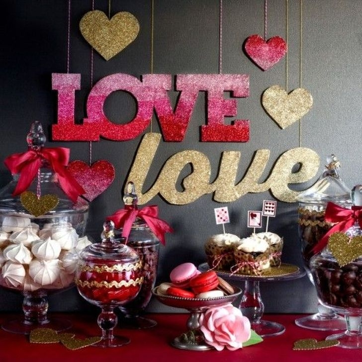 Amazing Apartment Decoration Ideas For Valentines Day25