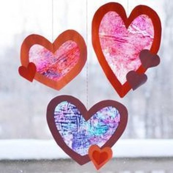 Cheap Diy Ornaments Ideas For Valentines Day39