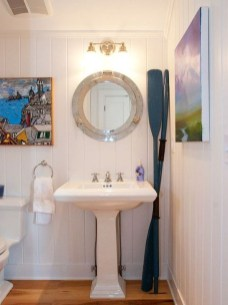 Cozy Coastal Style Nautical Bathroom Designs Ideas01