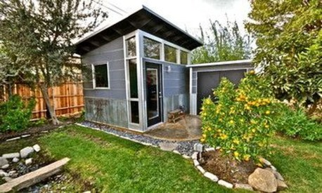 Fascinating Diy Backyard Studio Shed Remodel Design Decor Ideas09