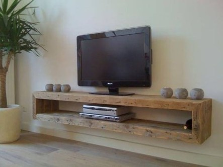 Stunning Diy Floating Shelves Living Room Decorating Ideas11