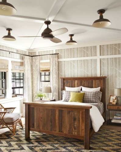 Affordable Lake House Bedroom Decorating Ideas07