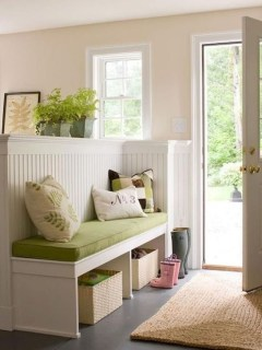 Awesome Rustic Mudroom Bench Decorating Ideas On A Budget11