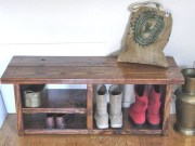 Awesome Rustic Mudroom Bench Decorating Ideas On A Budget31