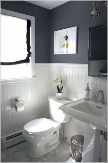 Cute Farmhouse Bathroom Remodel Ideas On A Budget37