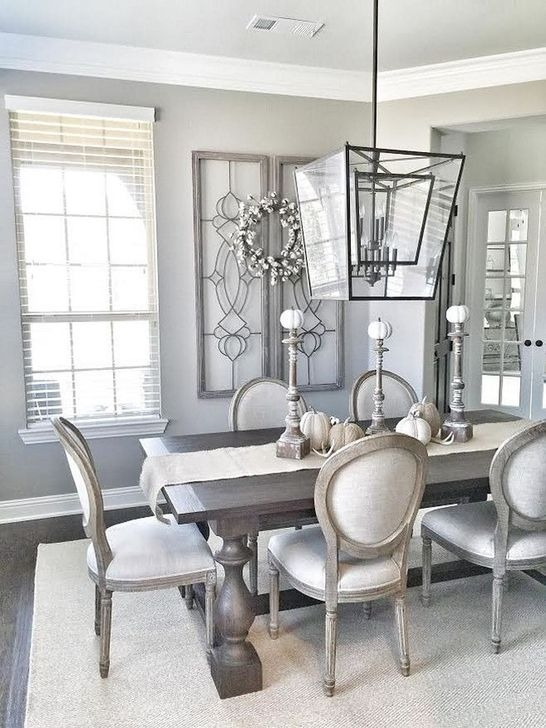 Cute Farmhouse Dining Room Table Ideas45
