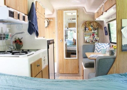 Awesome Full Time Rv Living Ideas With Camper Organization Tips Tricks02