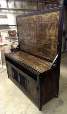 Beautiful Industrial Furniture Design Ideas With Wood 07