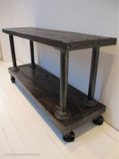 Beautiful Industrial Furniture Design Ideas With Wood 16
