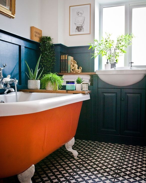 Cool Bathrooms Ideas With Clawfoot Tubs09
