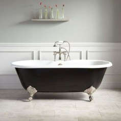 Cool Bathrooms Ideas With Clawfoot Tubs28
