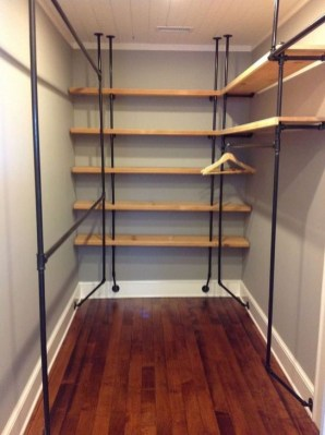 Impressive Walk In Closet Organization Ideas28
