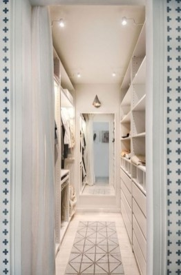 Impressive Walk In Closet Organization Ideas29