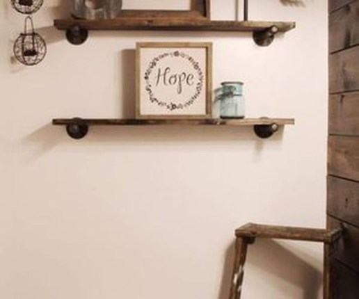 Inexpensive Diy Pipe Shelves Ideas On A Budget15