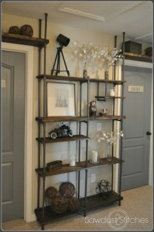 Inexpensive Diy Pipe Shelves Ideas On A Budget24