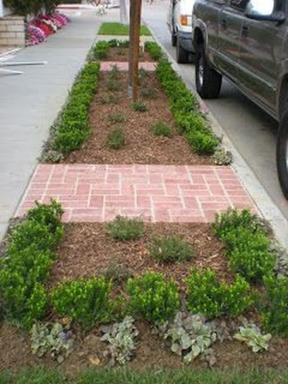 Relaxing Front Sidewalk Landscaping Ideas07