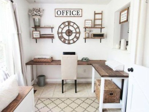 Unique Diy Home Office Decor Ideas42