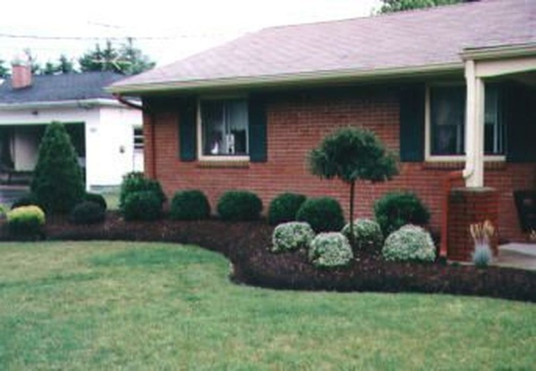 Wonderful Grass Landscaping Ideas For Home Yard11