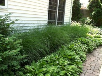 Wonderful Grass Landscaping Ideas For Home Yard45