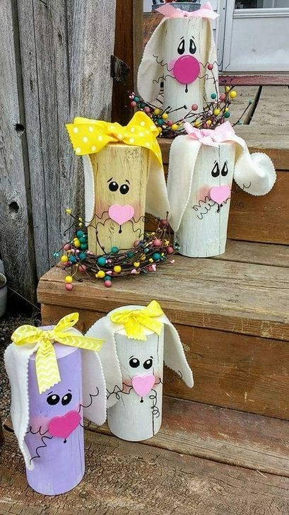 Charming Easter Ideas For Outdoor Decorations 03