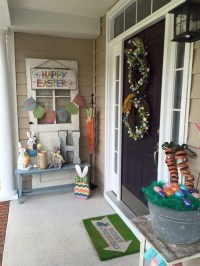 Charming Easter Ideas For Outdoor Decorations 05