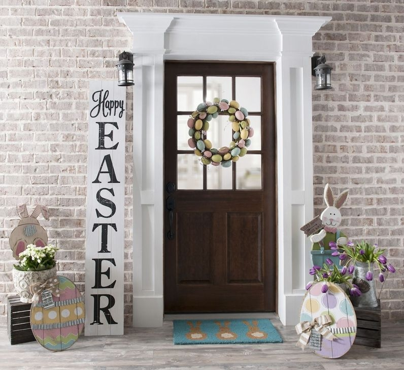 Charming Easter Ideas For Outdoor Decorations 37