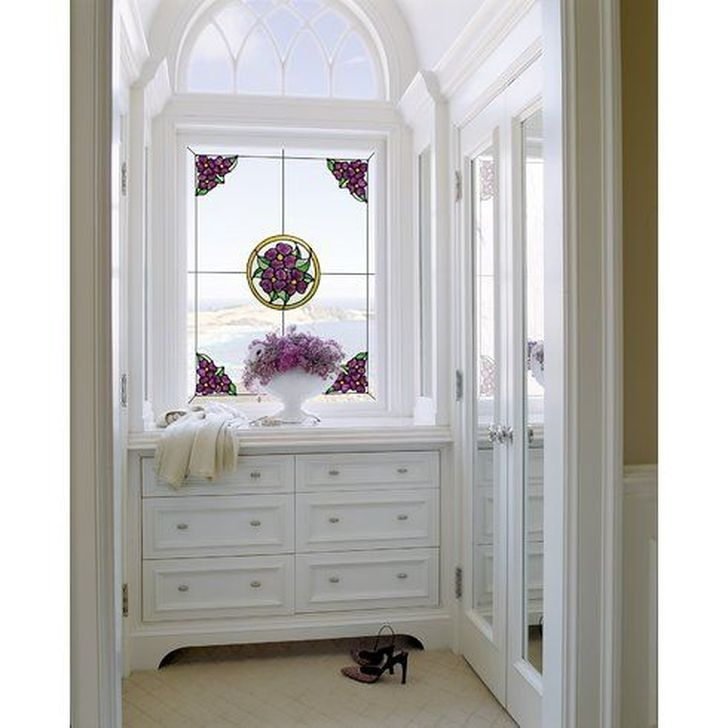 Comfy Stained Glass Window Design Ideas For Home 37