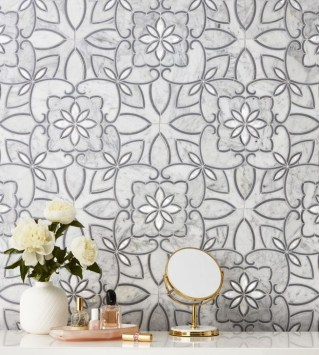 Cool Tile Pattern Design Ideas For Bathroom 23