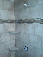 Cool Tile Pattern Design Ideas For Bathroom 29