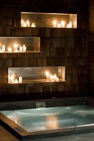Cozy Spa Bathroom Decorating Ideas 16