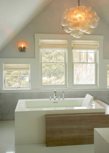 Cozy Spa Bathroom Decorating Ideas 26