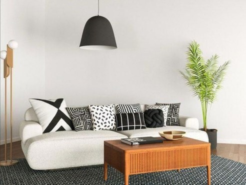 Relaxing Black And White Decor Ideas For Your Room 13