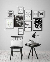 Relaxing Black And White Decor Ideas For Your Room 18