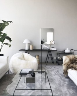 Relaxing Black And White Decor Ideas For Your Room 25