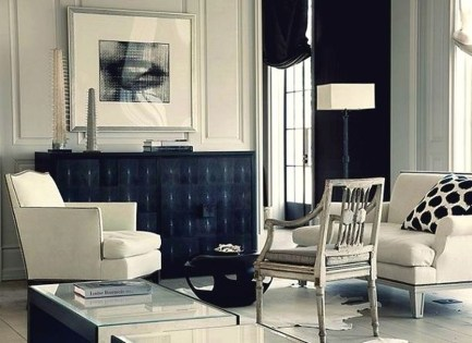 Relaxing Black And White Decor Ideas For Your Room 40