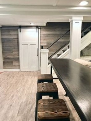 Wonderful Basement Remodel Ideas Into An Attractive Living Room 07