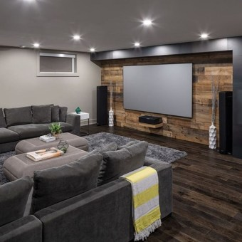Wonderful Basement Remodel Ideas Into An Attractive Living Room 16