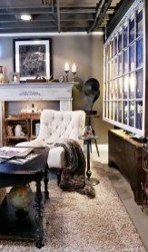 Wonderful Basement Remodel Ideas Into An Attractive Living Room 33
