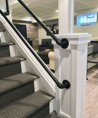 Wonderful Basement Remodel Ideas Into An Attractive Living Room 44