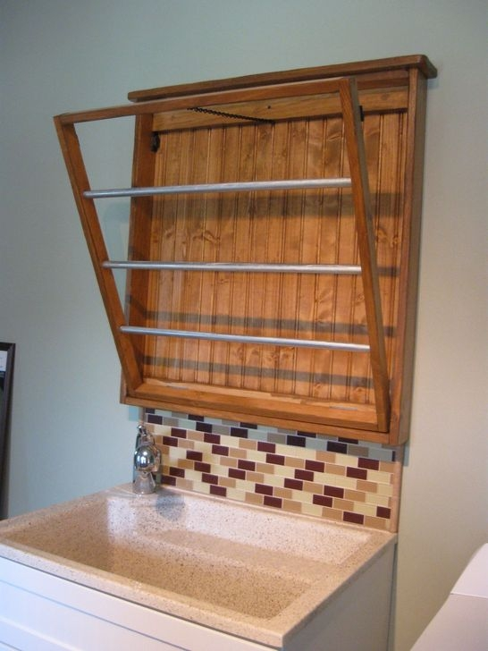 Elegant Diy Drying Rack Design Ideas That You Can Copy Right Now 40