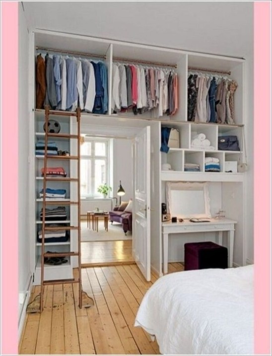 Enchanting Bedroom Storage Ideas 36