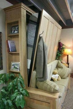 Fantastic Diy Murphy Bed Ideas For Small Space 22