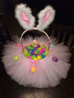 Gorgeous Easter Basket Ideas For Kids 43