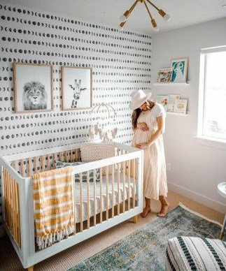 Modern Baby Room Themes Design Ideas 23
