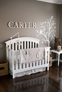 Modern Baby Room Themes Design Ideas 33