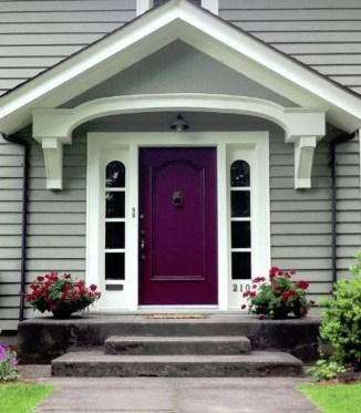 Outstanding Colorful Door Ideas For House 16