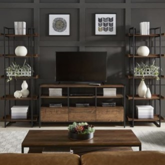 Rustic Home Entertainment Centers Ideas 08
